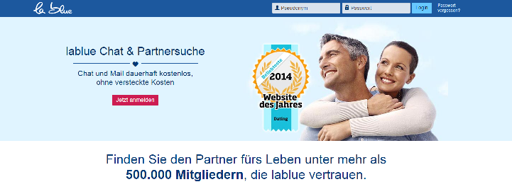 Partnersuche la blue